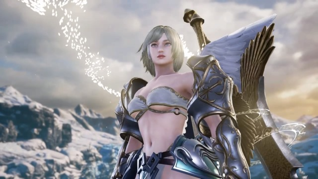 Winged Warrior (Female). Made using Creation mode in Soulcalibur 6. benjaminfrog.com