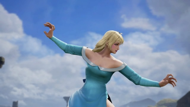 Elsa from Frozen. Made using Creation mode in Soulcalibur 6. benjaminfrog.com