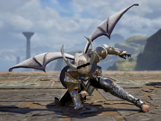 Corrin (Female Version) from Fire Emblem. Made using Creation mode in Soulcalibur 6. benjaminfrog.com