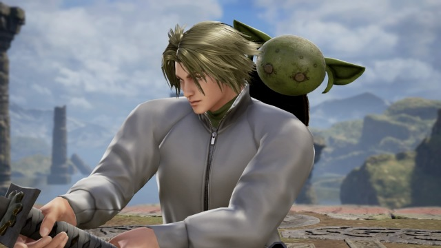 Luke Skywalker with Yoda from Star Wars. Made using Creation mode in Soulcalibur 6. benjaminfrog.com