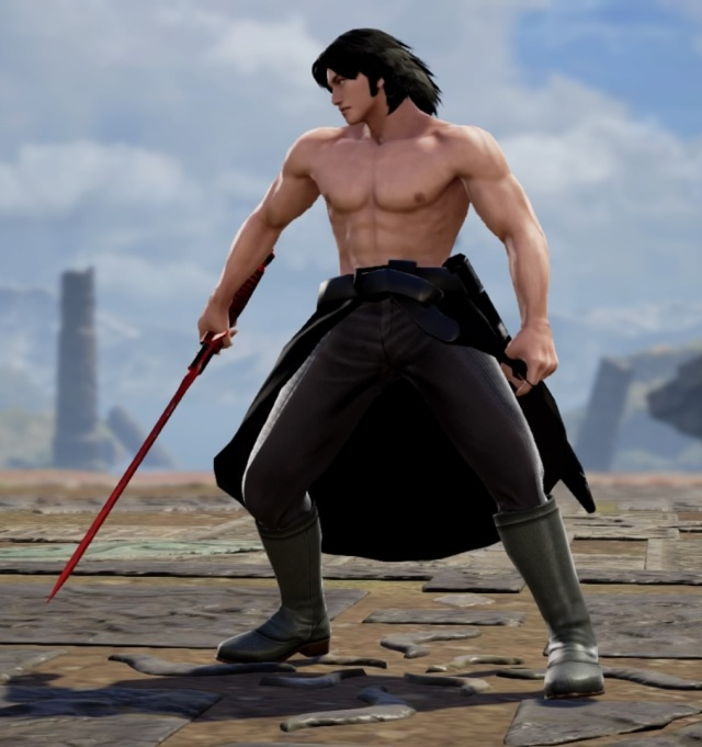 Kylo Ren from Star Wars. Made using Creation mode in Soulcalibur 6. benjaminfrog.com