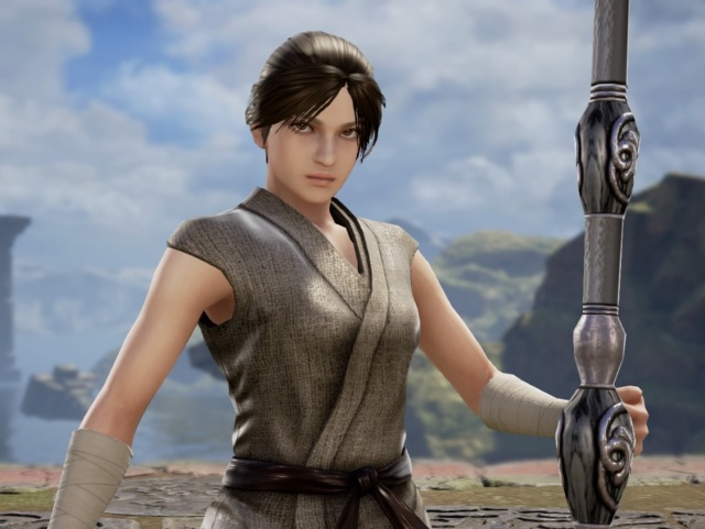 Rey from Star Wars. Made using Creation mode in Soulcalibur 6. benjaminfrog.com