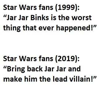 Star Wars. Jar Jar Binks. Fan Theory. benjaminfrog.com
