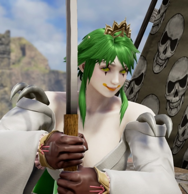 Clowncoptette. Made using Creation mode in Soulcalibur 6. benjaminfrog.