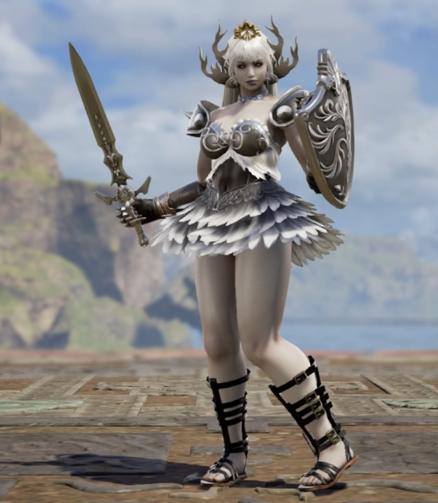 Thwompette. Made using Creation mode in Soulcalibur 6. benjaminfrog.