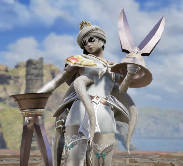 Bloopette. Made using Creation mode in Soulcalibur 6. benjaminfrog.