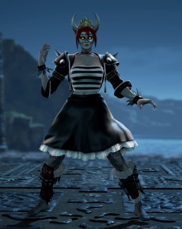 Dry Bowsette. Made using Creation mode in Soulcalibur 6. benjaminfrog.