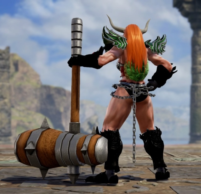 Giga Bowsette. Made using Creation mode in Soulcalibur 6. benjaminfrog.