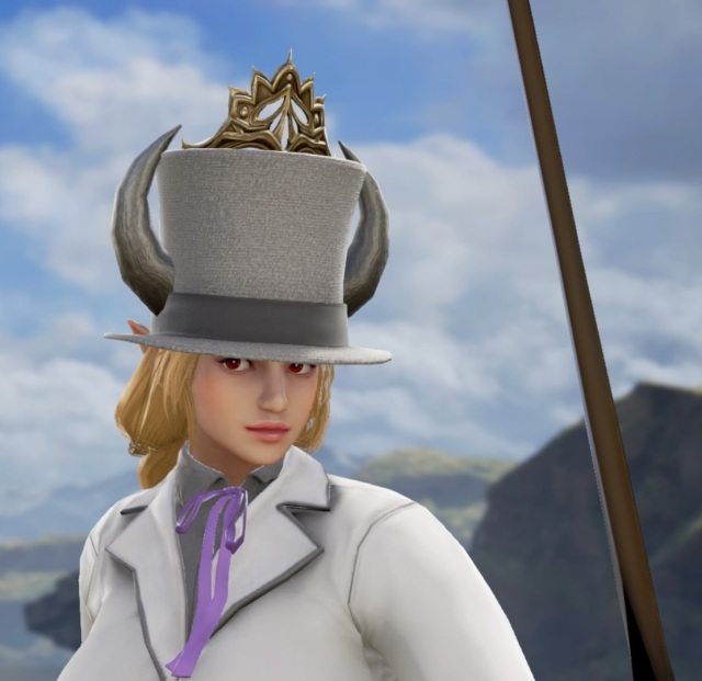 Bowsette Wedding Tux. Made using Creation mode in Soulcalibur 6. benjaminfrog.