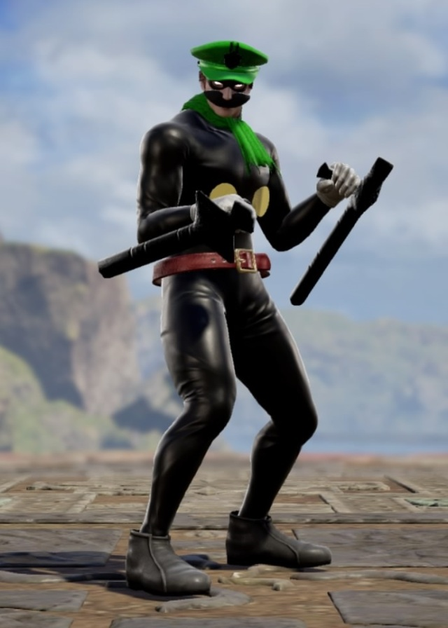 Mr. L. Made using Creation mode in Soulcalibur 6. benjaminfrog.com