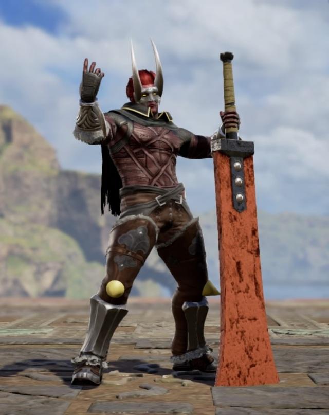 Phantom Ganon from Zelda. Made using Creation mode in Soulcalibur 6. benjaminfrog.com