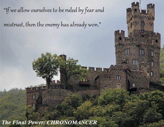Quote from 'The Final Power: Chronomancer' by Benjamin T. Collier