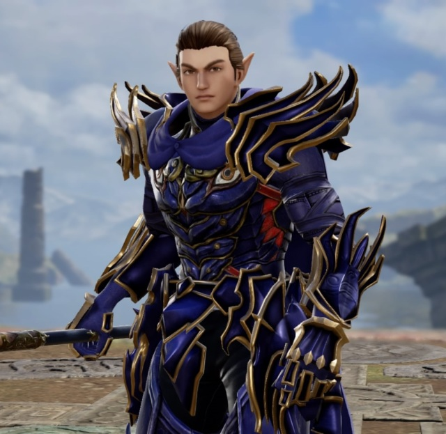Rayu from The Final Power: Chronomancer. Made using Creation mode in Soulcalibur 6. benjaminfrog.com