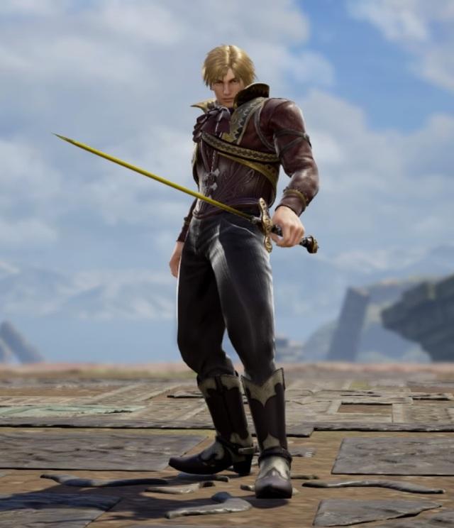 Ian from The Final Power: Chronomancer. Made using Creation mode in Soulcalibur 6. benjaminfrog.com