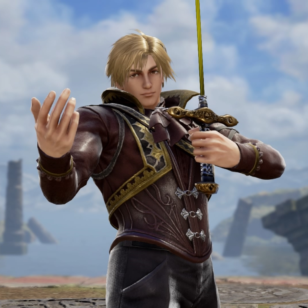 Ian from The Final Power: Chronomancer. Made using Creation mode in Soulcalibur 6. benjaminfrog.com