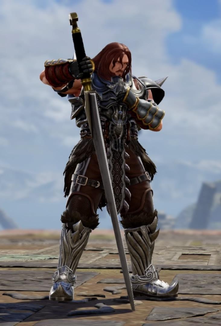 Baruda from The Final Power: Chronomancer. Made using Creation mode in Soulcalibur 6. benjaminfrog.com