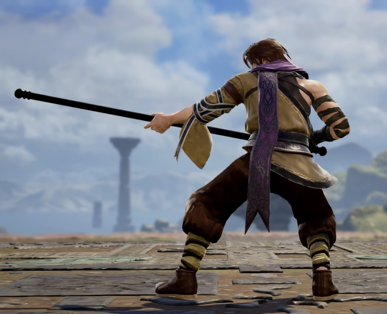 Erid from The Final Power: Chronomancer. Made using Creation mode in Soulcalibur 6. benjaminfrog.com