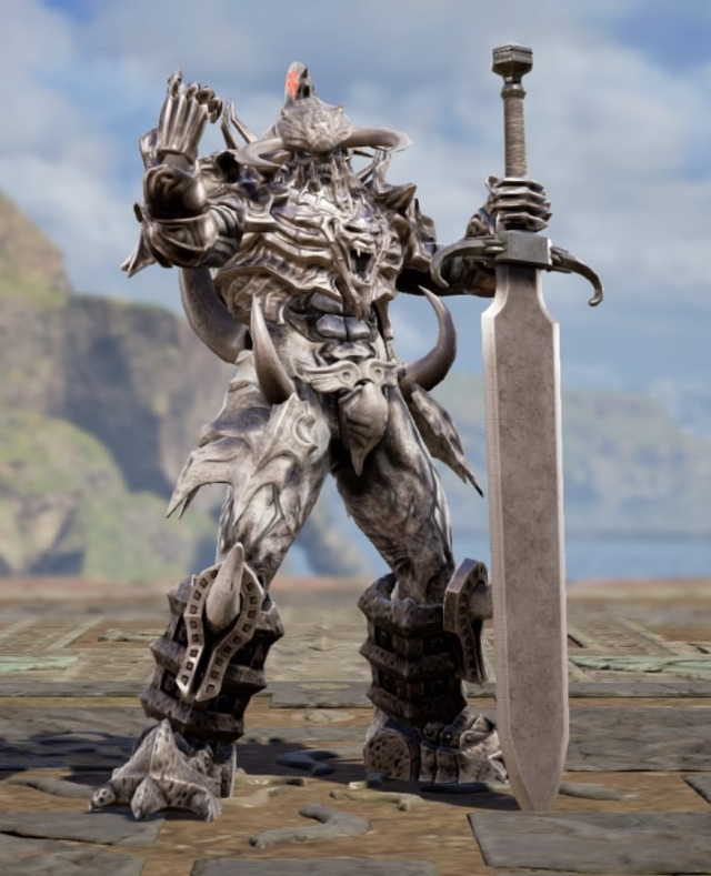 Osgamal from The Final Power: Chronomancer. Made using Creation mode in Soulcalibur 6. benjaminfrog.com