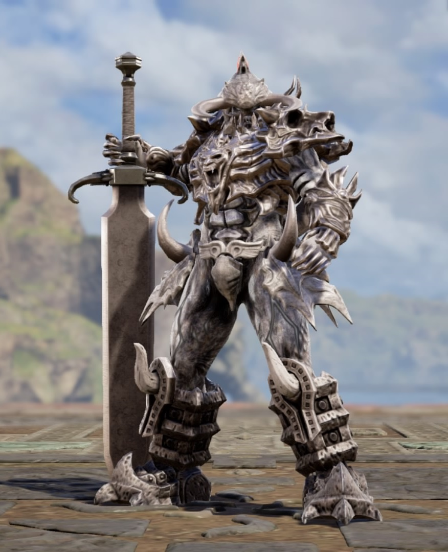 Osgamal from The Final Power: Chronomancer. Made using Creation mode in Soulcalibur 6. benjaminfrog.com