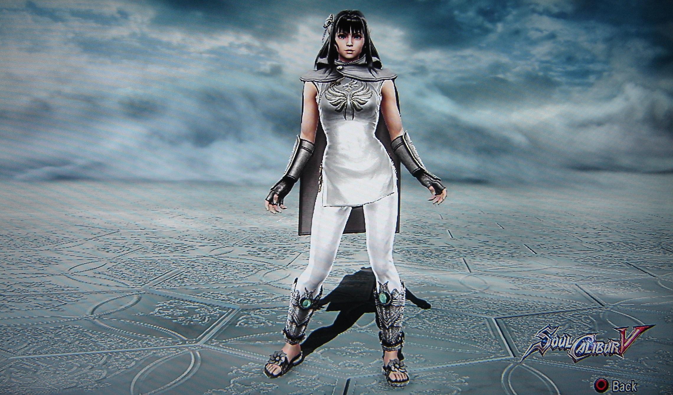 Princess Zera from The Final Power: Chronomancer. Made using Creation mode in Soulcalibur 5. benjaminfrog.com
